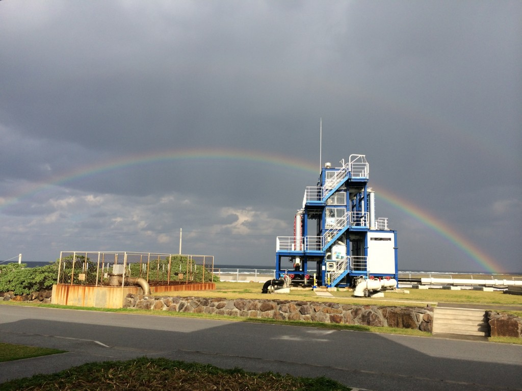 OTECプラント+虹2